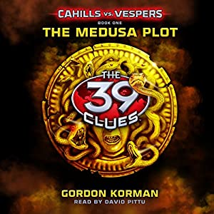 The Medusa Plot: 39 Clues Audiobook