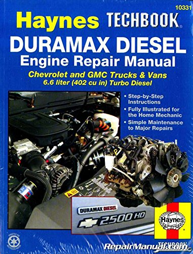 H10331 Haynes Duramax Diesel Engine Techbook for 2001-2012 Chevrolet GMC