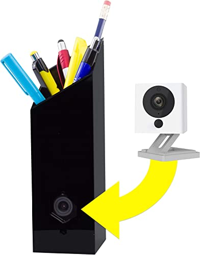 Pencil CASE for Wyze Cam Make Your Wyze Cam More Discreet and Beautiful with This Camera Housing That Doubles as a Pencil Holder Fits Wyze Cam and Wyze Cam v2, Does NOT Fit Wyze Cam Pan