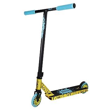 Ride 858 Backie - Patinete Completo, Color Dorado y Azul ...