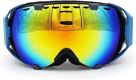 Silver Len Black Lens Col Retro Motorcyle Helmet Goggles UV Protection Eyewear for Sports Outdoor Skiing Snowboard