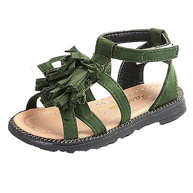 60ce249347731 Amazon.com: Lurryly Baby Boys Girls Kids Fashion Roman Shoes ...