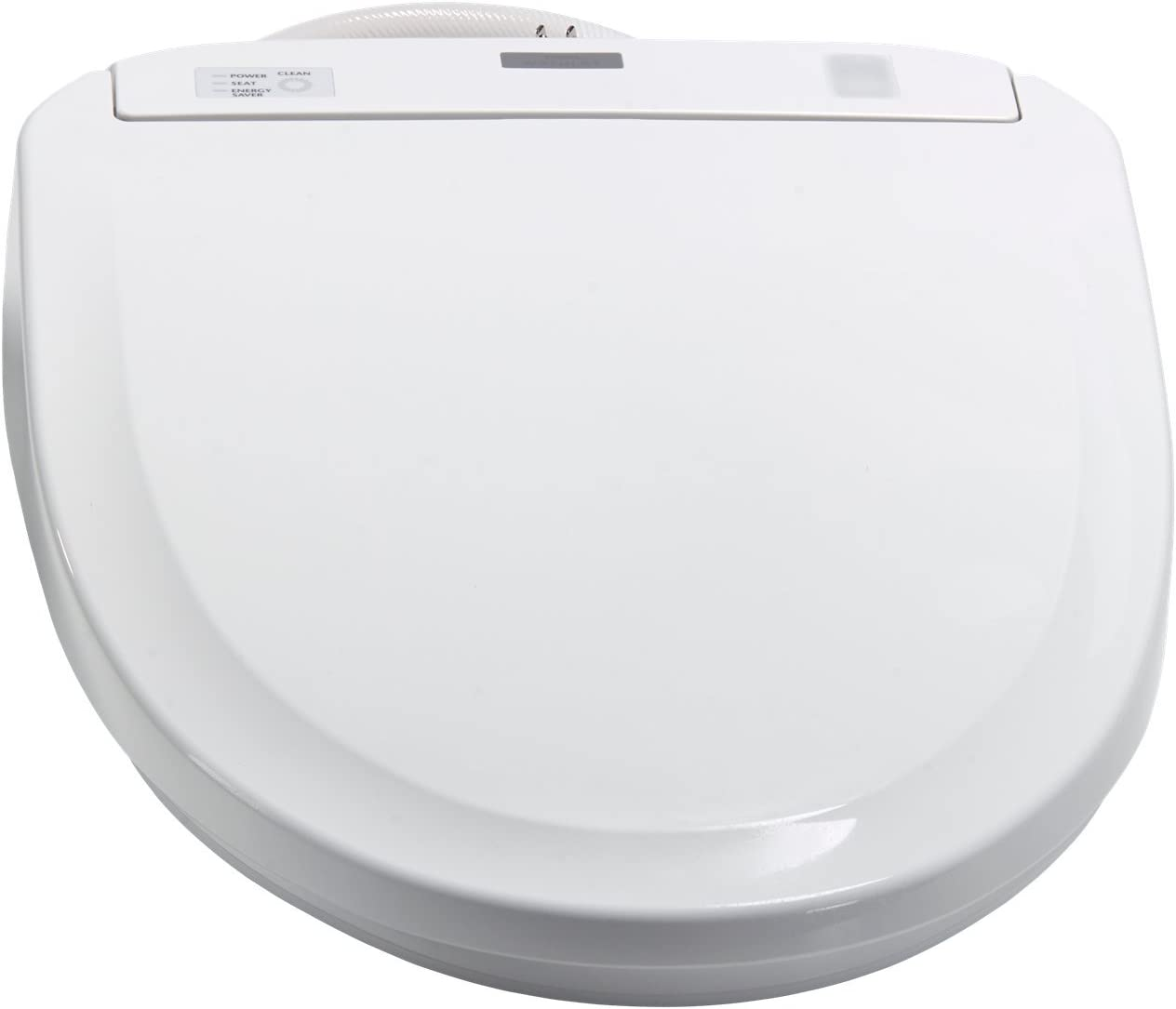 Toto Sw584 01 350e Washlet Electronic Bidet Toilet Seat With Auto Open And Close And Ewater Sanitization Elongated Cotton White