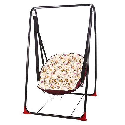 Amazon.com: Swing Childrens Swing Chair Balcony Indoor Baby Rocking ...