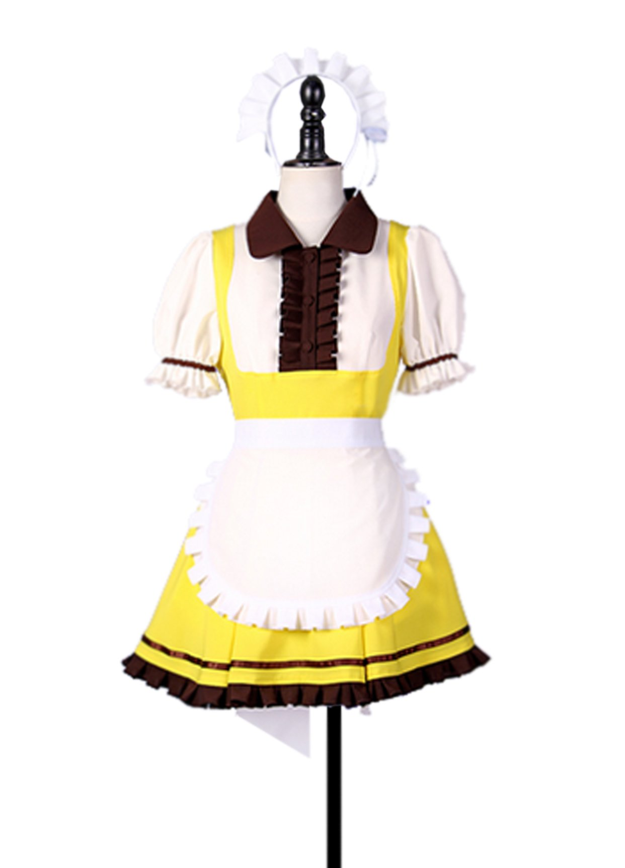 Dreamcosplay Animation Love live Ayase Eli Cake Maid Outfits Cosplay