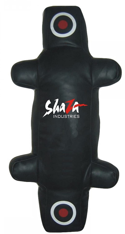 """ARD Brazilian Jiu Jitsu Grappling Dummy Artificial Leather MMA 59/"""" /& 70/"""" Black"""
