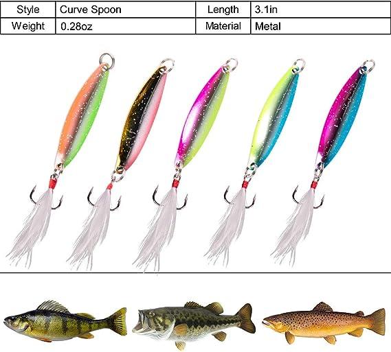 Troutlook Trout Rod Spoon Aligator Indicator Rod spoonrute 180-210cm spinnrute