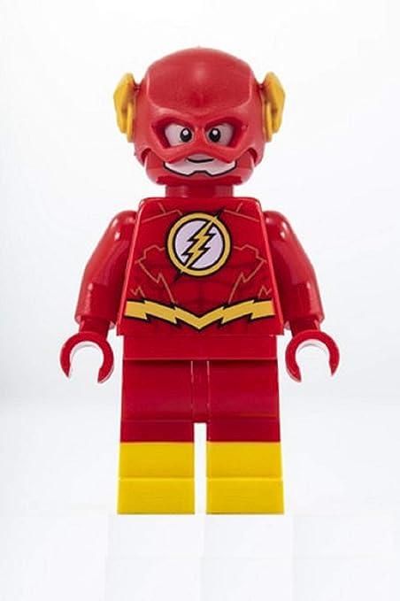 NEW LEGO FLASH MINIFIG 76117 DC COMICS JUSTICE LEAGUE SUPER HEROES MINIFIGURE