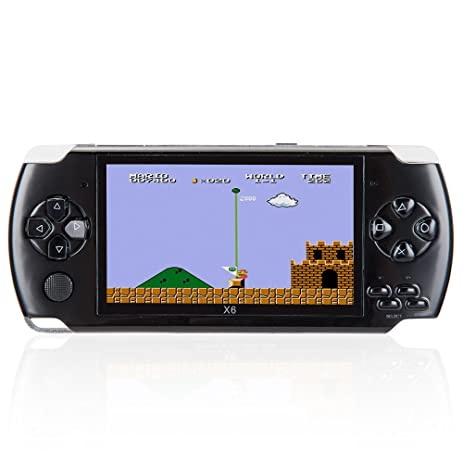 Amazon 8gb 43 inch handheld game console with 1000 classic 8gb 43 inch handheld game console with 1000 classic gba games support video music fandeluxe Image collections
