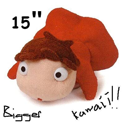 "thecostumebase Ponyo 15"" Plush Doll by The Cliff Toy Studio Ghibli: Toys & Games"