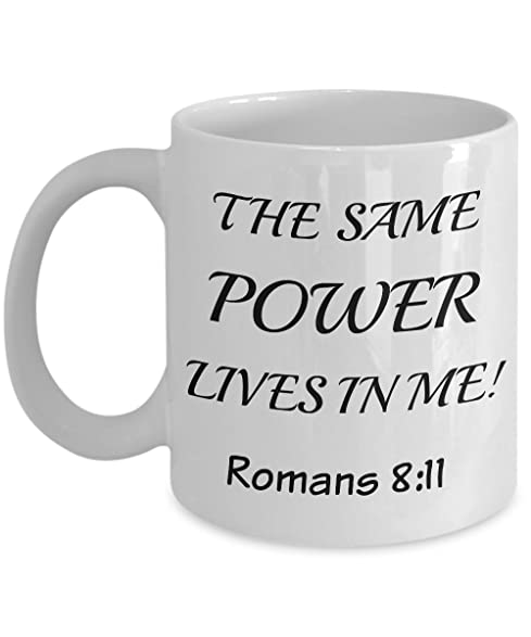 Amazon romans 811 coffee mug christian mugs for women romans 811 coffee mug christian mugs for women men make the best negle Images