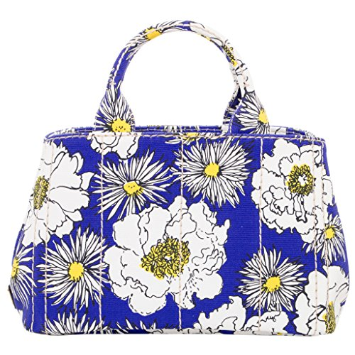 Prada Women's Small Floral Print Tote - Prada Floral Bag