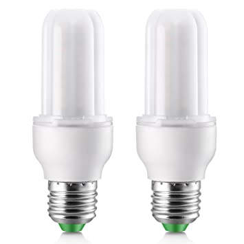Elrigs LED Lampe Stabform dimmbar 7W ersetzt 60W, E27, Warmweiß ...