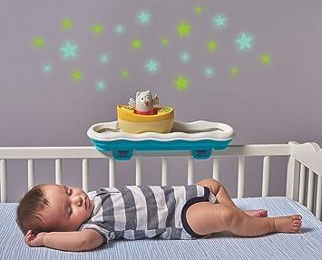 Amazon.com: Taf Toys 3 en 1 Barco Cuna Musical Toy y chupete ...