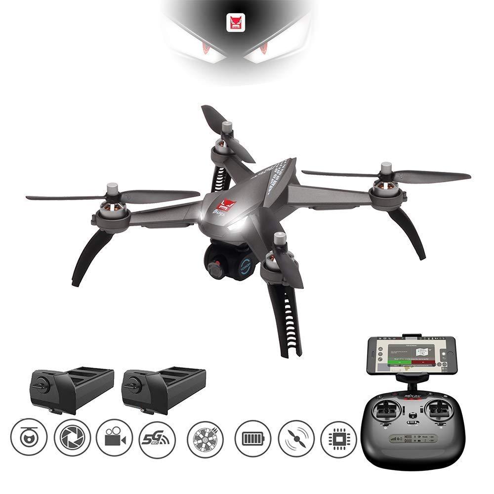 MJX Bugs 5W RC Drone, Remote Control Drones w/5GWiFi FPV 1080P Camera,Brushless Motor, Waypoint, 1-Key RTH etc.