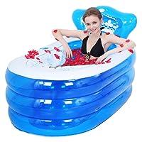 KKY-ENTER Épaissir PVC Pliant Gonflable Baignoire Portable Accueil Spa Baignoire Adulte Enfants Seau De Bain