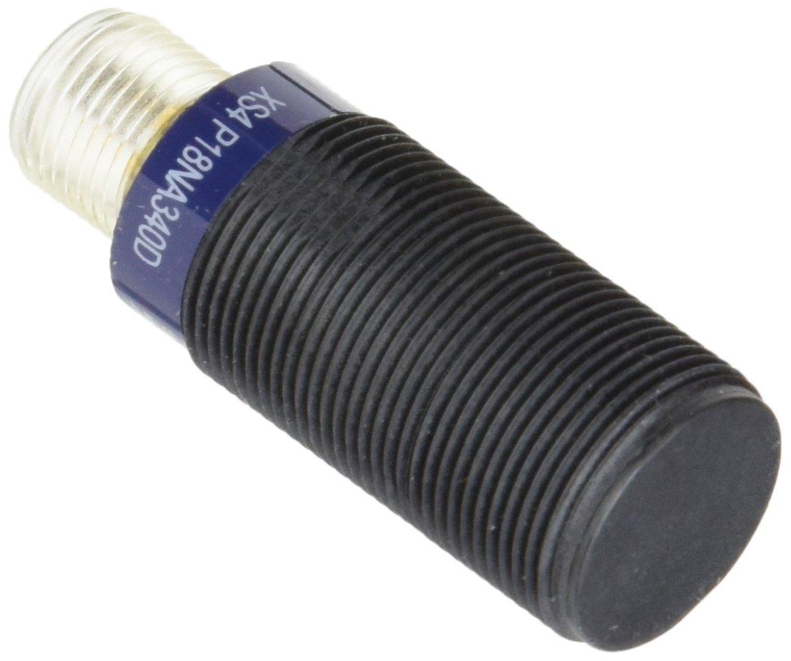 Schneider Electric XS4P18NA340D Proximity Sensor 8mm, Inductive Sensor Xs4 M18 - L48Mm - Pps - Sn8Mm - 12.24Vdc - M12