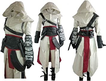 Assassin S Creed Altair Cosplay Costume Amazon Co Uk Toys Games