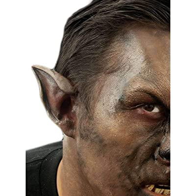 Woochie Classic Latex Ears - Professional Quality Halloween Costume Makeup - Wolf: Toys & Games