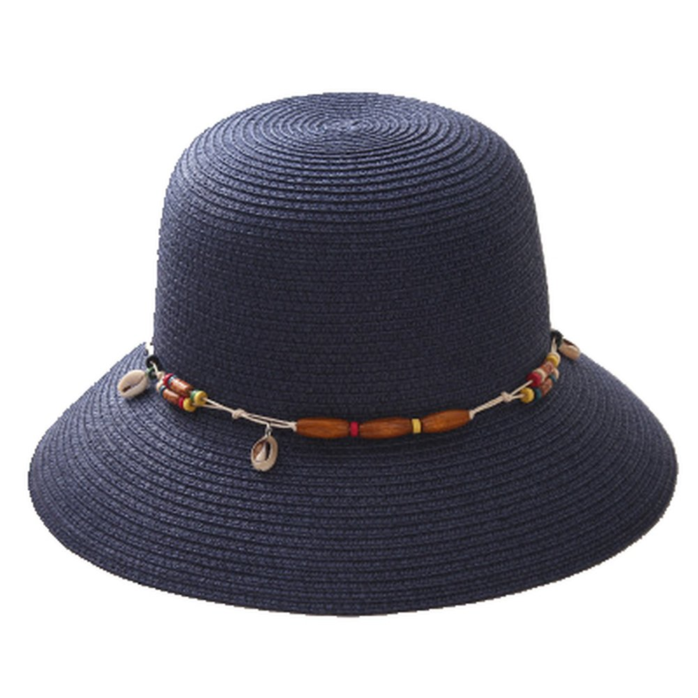 Summer Fashion Wide Edge Beach Sun Hat Travel Vacation Straw Hat Visor Cap