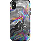 iPhone X & iPhone Xs Case Marble, Akna Sili-Tastic Series High Impact Silicon Cover with Full HD+ Graphics for iPhone X…