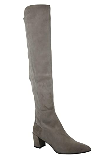 7cef7a3ef5e Stuart Weitzman Women s Allwayhunk Taupe Suede Over-The-Knee Boot (US ...