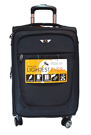 Texas USA 4-Wheel Luggage Trolley Travel Bag,Black Colour, Size  28 inches  (.  Amazon.in  Bags, Wallets   Luggage 02c715f372