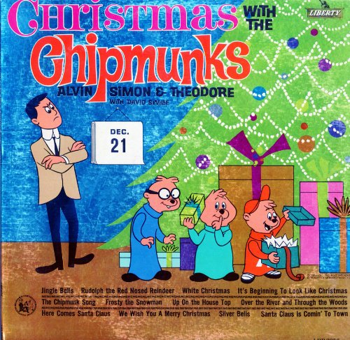 The Chipmunks, David Seville, Alvin, Simon, Theodore - Christmas ...