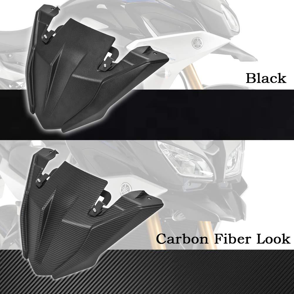 Carbon Look FATExpress MT09 Tracer Motociclo Ruota Anteriore parafango Becco Becco Cono Protezione Estensione prolunga Cappuccio per 2018 2019 2020 Yamaha MT-09 Tracer 900 GT MT FJ 09 FJ09 FJ-09