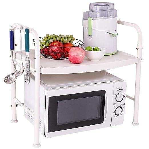 HUIQI Organizador Cocina Bastidores Cocina microondas Estante de ...