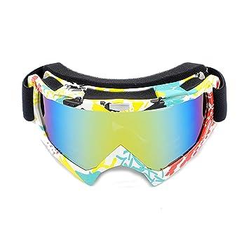 MaxAst Gafas de Sol Gafas de Seguridad Unisex Gafas Moto ...
