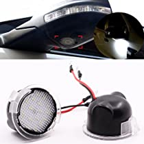 ... LED Under Side View Mirror Puddle Lights for Ford Edge Fusion Range Flex Explorer Expedition Mondeo