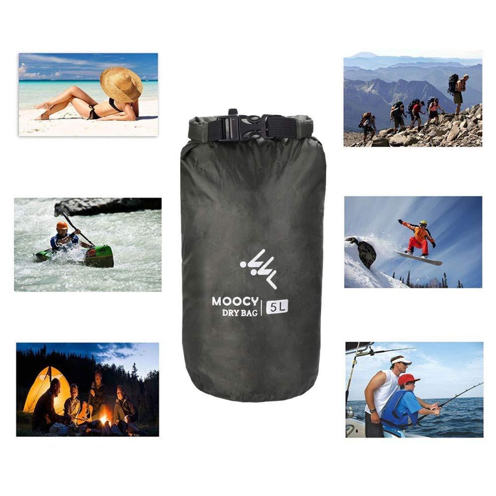 Ardorlove Floating Waterproof Dry Bag Roll Top Sack Dry Organizer for Kayaking,Rafting,Boating,Swimming,Camping,Hiking,Beach,Fishing,5L//20L//50L