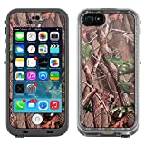Skin Decal for LifeProof Apple iPhone 5C Case - Real Tree Camouflage Hunter Sunset