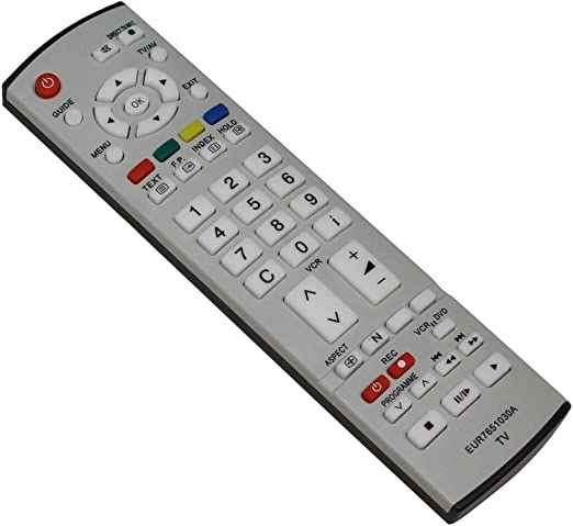 AERZETIX: Mando a distancia para televisor compatible con Panasonic EUR7651030A: Amazon.es: Electrónica