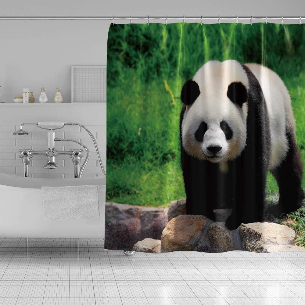 Musemailer Panda Shower Curtain Polyester 71