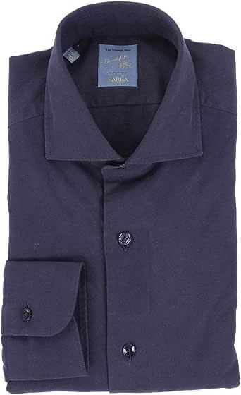BARBA Luxury Fashion Hombre 13655640BLUE Azul Camisa | Temporada Outlet: Amazon.es: Ropa y accesorios