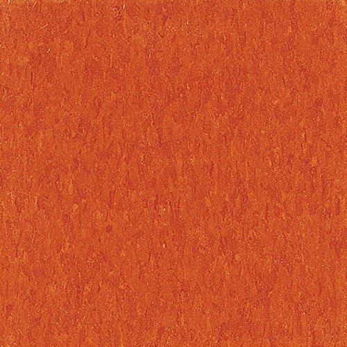 Imperial Texture VCT 12 in.x 12 in. Pumpkin Orange Standard Excelon Commercial Vinyl Tile(45 sq ()