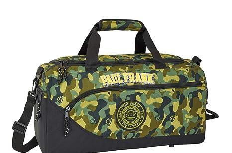 Bolsa de Deporte Grande de 50 cm, Color Caqui Paul Frank ...