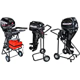 Rage Powersports Outboard Motor Cart Engine Stand