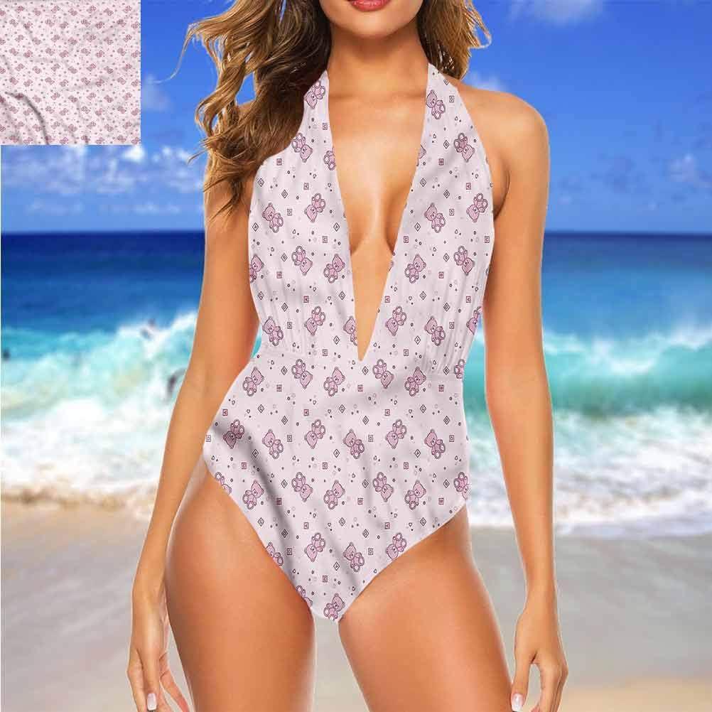 Jouets de bikini super mignons, ours en peluche et carrés pour activités de plage/randonnée Multicolore 01