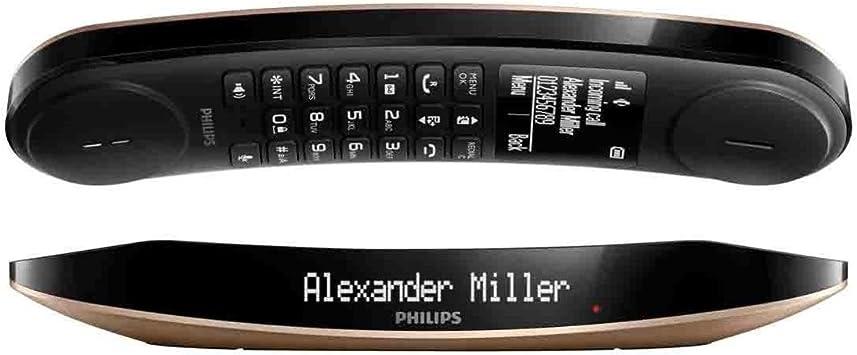 Philips - Teléfono inalámbrico luceo m6601cb/23: Amazon.es: Electrónica