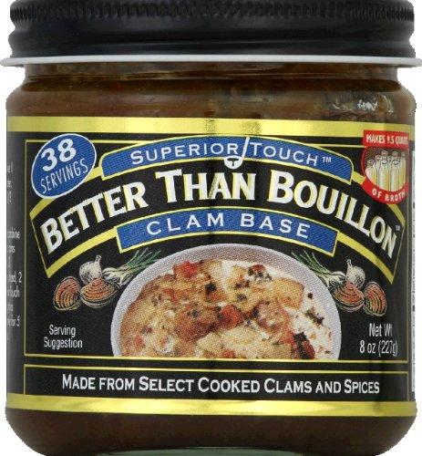 Better Than Clam Base Bouillon, 8 Ounce - 6 per case. -