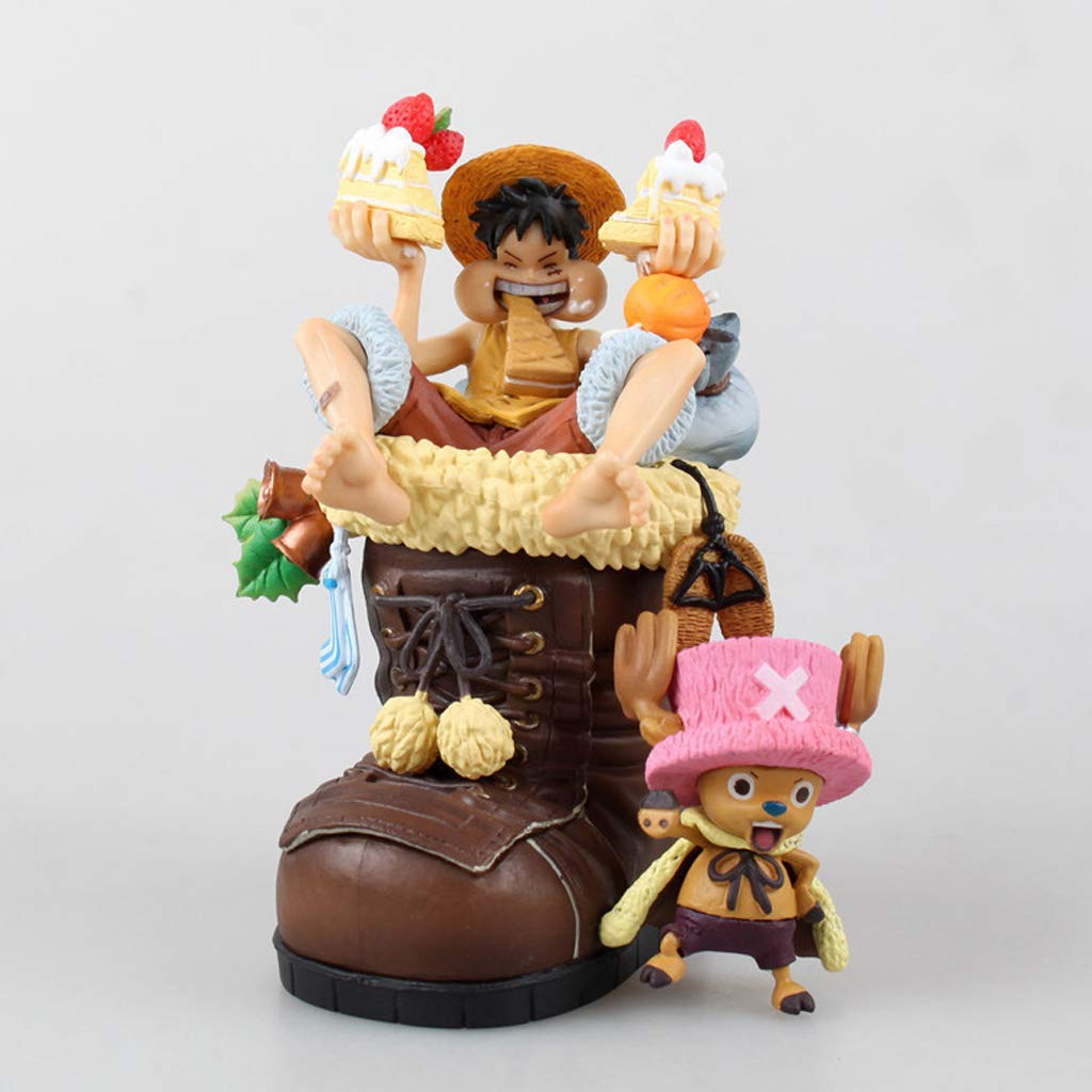 JSFQ Giocattolo Statua Statua Modello Squisito Ornamento Decorazione Regalo Regalo di Compleanno 11 Cm Statua del Giocattolo (colore   Marronee)