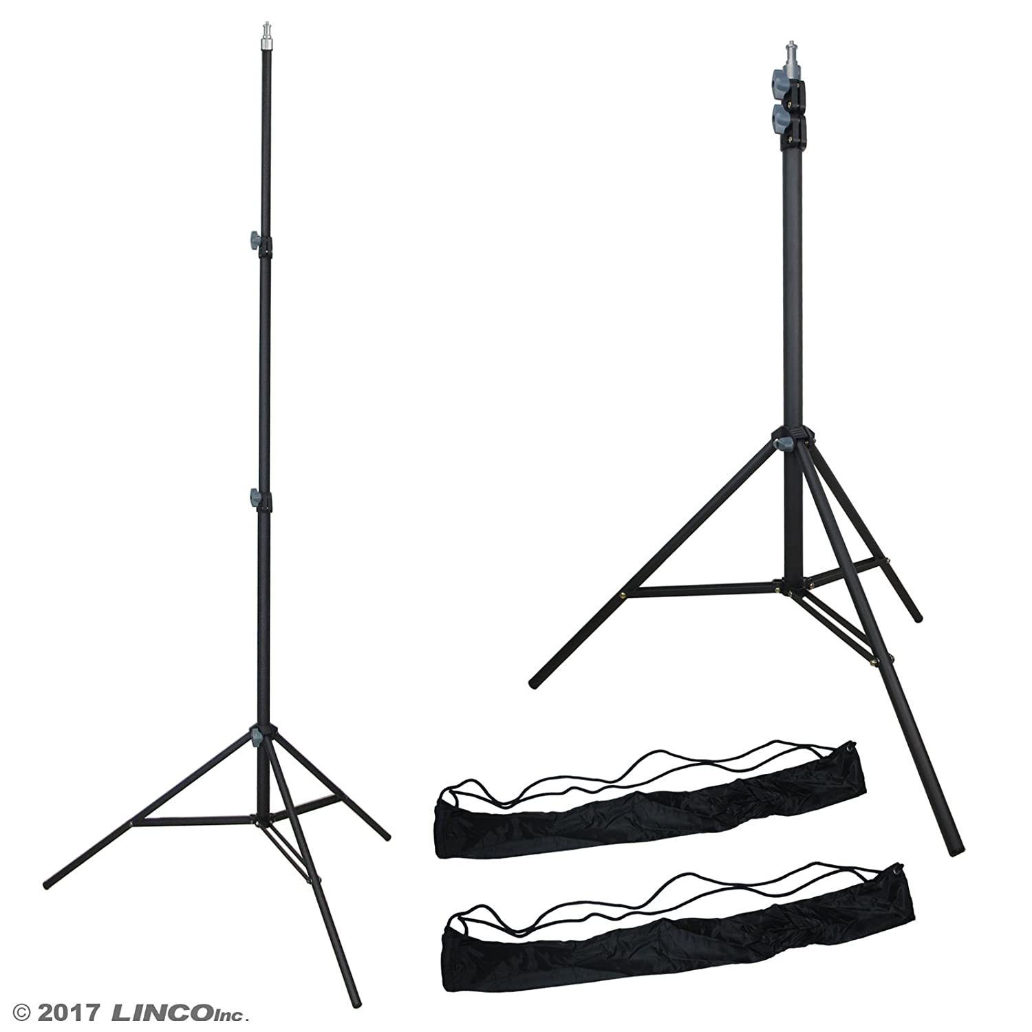 LINCO Lincostore Zenith 7 feet/225cm Photo Studio Light Stands Set Two HTC Vive VR, Video, Portrait Product Photography LINCO INC 4335031429