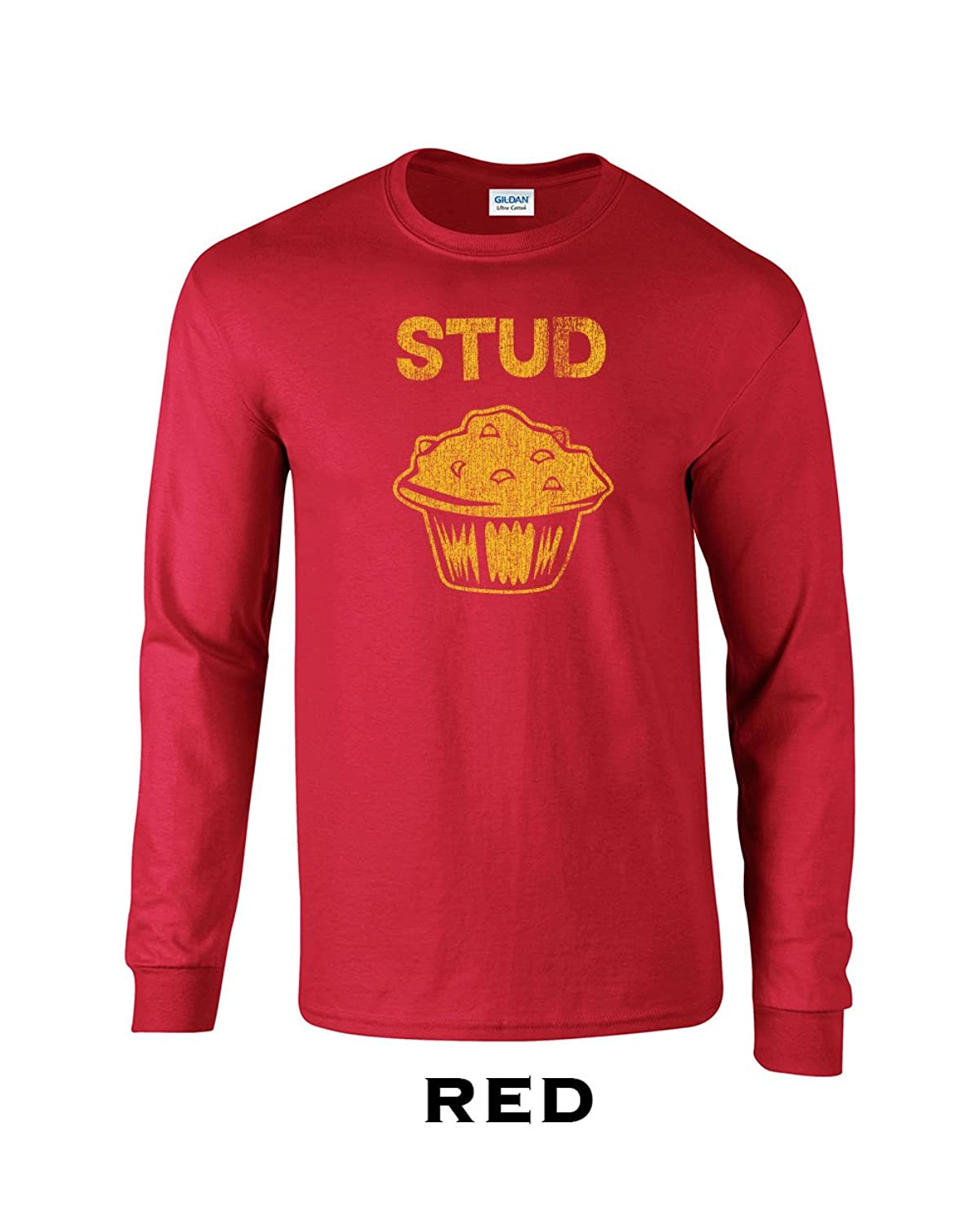 144 Stud Muffin Adult Long Sleeve T Shirt