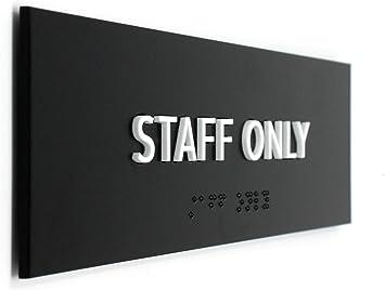 Amazon.com: Kubik Letras solo el cartel del personal, diseño ...
