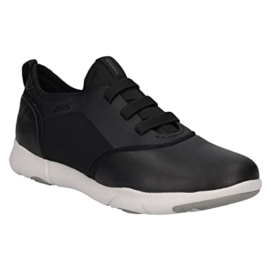 Mens U Nebula a Trainers, Black Geox