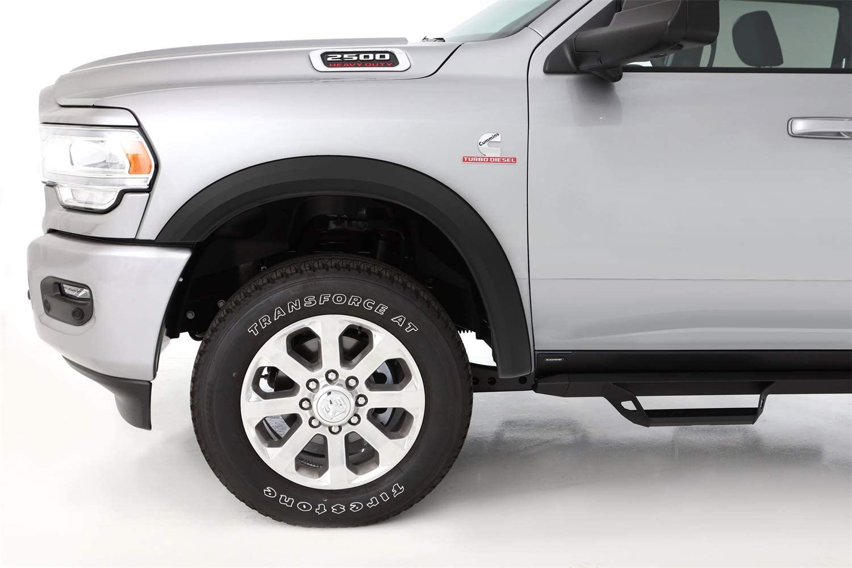Textured Black 10-19 Dodge Ram 2500 3500 OE Fender Flares Bolt On No Drill Set