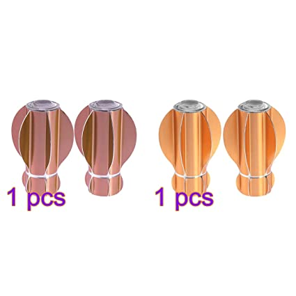Buy Vosarea 4 Pcs Window Curtain Rod End with Star Fruit Curtain Head Cap  for Home Office Dia. 28mm Online at Low Prices in India - Amazon.in e2583a52ca5